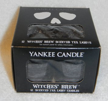 Witches' Brew Set of 12 Tea Lights by Yankee Candle for $<!--$14.43-->