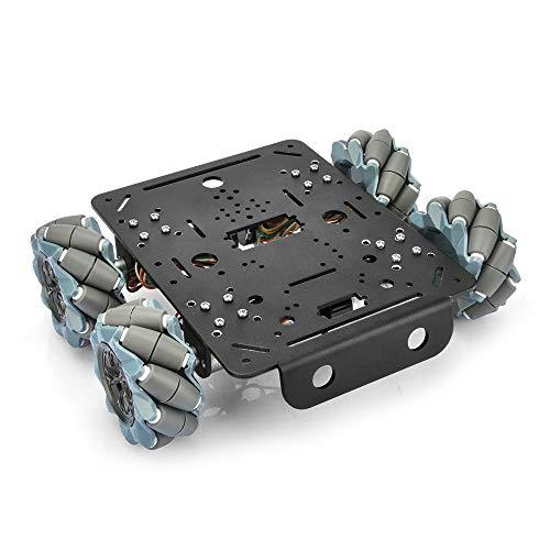 4WD Mecanum Wheel Robot Car Metal Robot Platforms Chassis Encoder Motor for Arduino Raspberry Pi