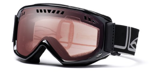 Smith Scope Airflow Goggle (Ignitor Mirror, Gloss Black), Outdoor Stuffs