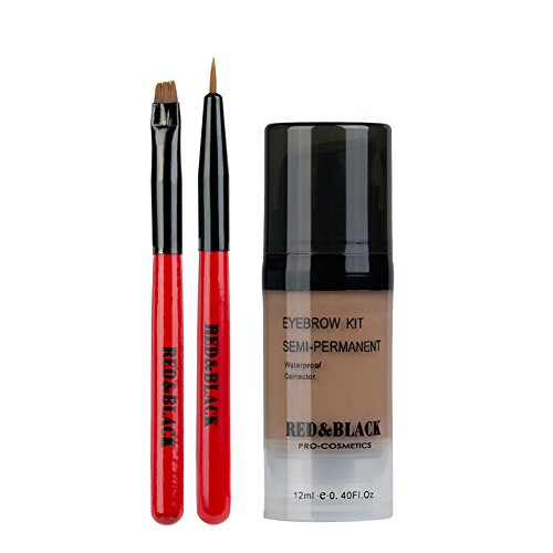 Red&Black Eyebrow Tint Kit Waterproof Long Lasting Eyebrow Dye Gel Mascara for Eyebrow Makeup 0.4 Fl Oz,Light Brown | Amazon Reviews | Cool gadgets | Ideas | Products | Makeup | Fashion | Beauty | Fashion Tricks