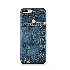 AMC Design Infinix Hot 6 X606 TPU Silicone Protective Case with Jeans Pocket Pattern