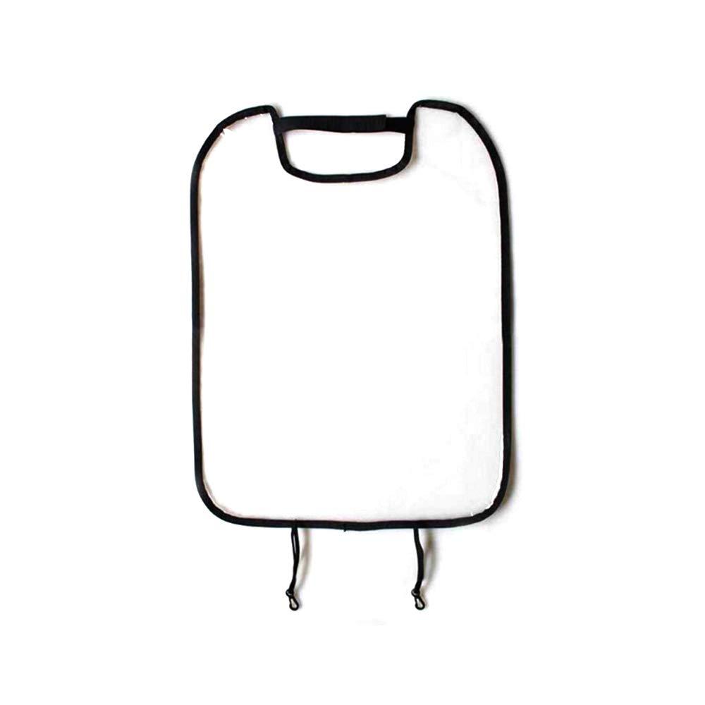 Asiento trasero del coche del protector de rató n, transparente impermeable anti tiro Anti-sucio del asiento de coche Volver malla para cubrir Protetctive para niñ os Kids (negro) FGRYB