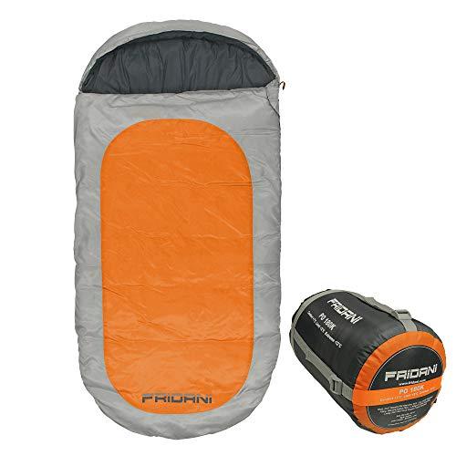 Fridani Manta Saco de Dormir para niños PO 180x90cm XXL -12°C Naranja Repelente al Agua Caliente Lavable: Amazon.es: Deportes y aire libre
