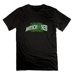 ZHENGAIMEI Men Scottsdale Community College Fighting Artichokes Tee-shirts