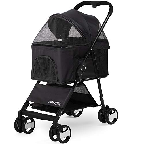 Paws Pals Stroller Carriage Detachable