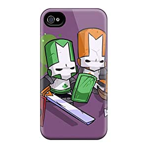 Snap-on Case Designed For Iphone 4/4s- Castle Crashers