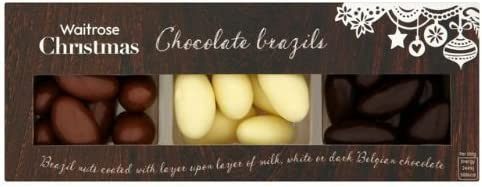 Chocolate Brazil Nut Assortment Christmas Waitrose 200g Case