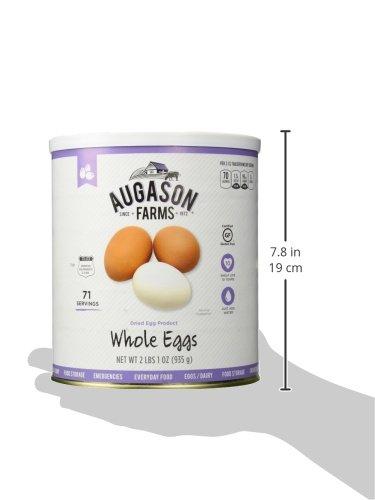 Augason Farms Dried Whole Egg Product 2 lbs 1 oz No. 10 Can by Augason Farms (Image #10)