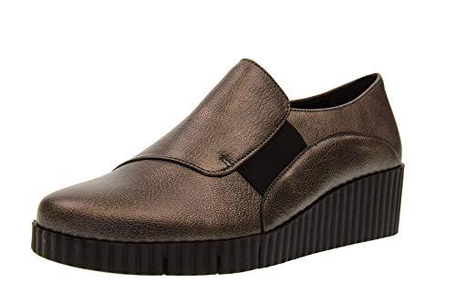 Gunmetal Jovich Femme Chaussures Flexx D2037 09 Mila Mocassins The Compensés q1zwOFw8