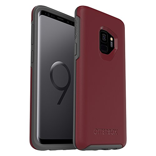 OtterBox SYMMETRY SERIES Case for Samsung Galaxy S9 - Retail Packaging - FINE PORT (CORDOVAN/SLATE GREY)