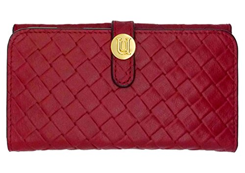 Uunique iPhone 6 (4.7 Zoll), exotisches Weave / Brieftasche, Rot
