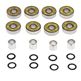 Baoblaze Skateboard Bearings,Spacers and Washers for Longboards, Scooters,Inline Skate