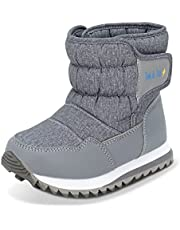 JAN & JUL Toasty-Dry Puffy Winter Boots for Boys or Girls