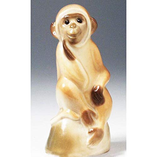 Lomonosov Porcelain Figurine Monkey
