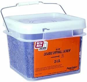 1 Pound Grip-Rite 158CDWS1 1-5//8-Inch 6 Coarse Thread Drywall Screw with Bugle Head