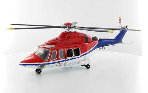 Agusta-Westland AW139 Helicopter Die-Cast (New Ray Pilot)