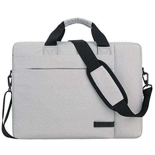 Expandable Business Briefcase 1 Durable Men Shoulder Women White Bags Multi Laptop Sunwanyi Organizer Messenger functional Bag Computer zIqSX
