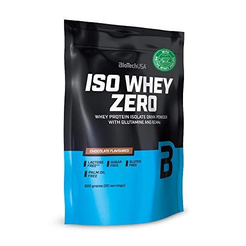 BioTechUSA ISO Whey Zero Isolate 100% Pure Protein 500g - Choco
