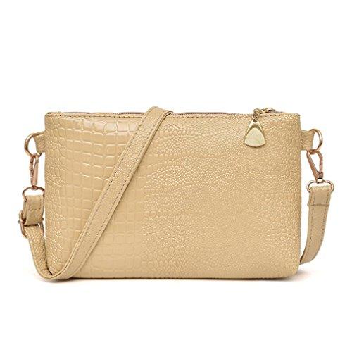 9f16e49b1d Hot Sale !!! Clearance JYC Ladies Women s Medium Crossbody Bag Lightweight  Classic Modern Shoulder PU Leather Bag Handbag Crocodile Pattern Shoulder  Bag ...