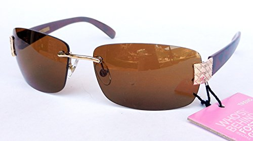 Foster Grant Womens Fashion Sunglasses (1263) 100% UVA & UVB + FREE BONUS MICROSUEDE CLEANING CLOTH