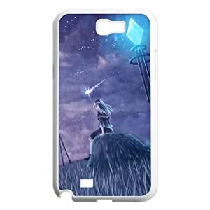 Samsung Galaxy N2 7100 Cell Phone Case Covers White Aurora Borealis Ovkei