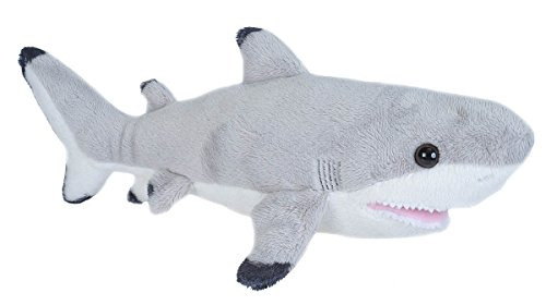 Wild Republic Black Tipped Shark Plush, Stuffed Animal, Plus