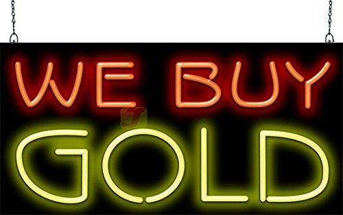 We Buy Gold Neon Sign
