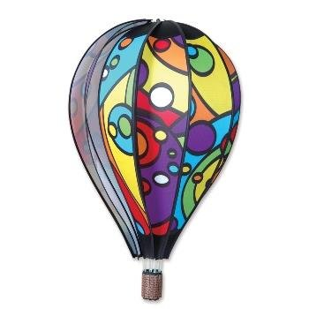 "26"" Rainbow Orbit Hot Air Balloon in Suntex Fabric with Fiberglass Rod"