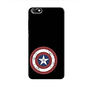 Cover It Up - Captain Shield Print Honor 4X Hard Case