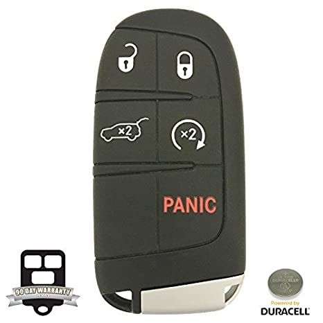 Buy 5 Button Dodge Smart Proximity Remote Key 68150061ac W Duracell