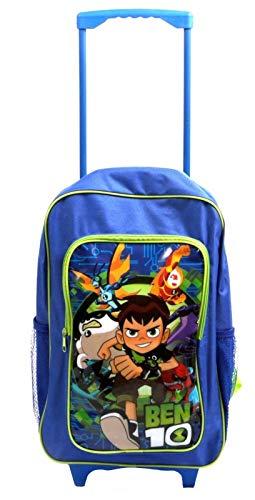 Ben 10 1019HV-7368 Deluxe Trolley Backpack, - Deluxe Trolley