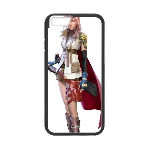 Eclair Farron Final Fantasy 007 coque iPhone 6 Plus 5.5 Inch Housse téléphone Noir de couverture de cas coque EOKXLLNCD17776
