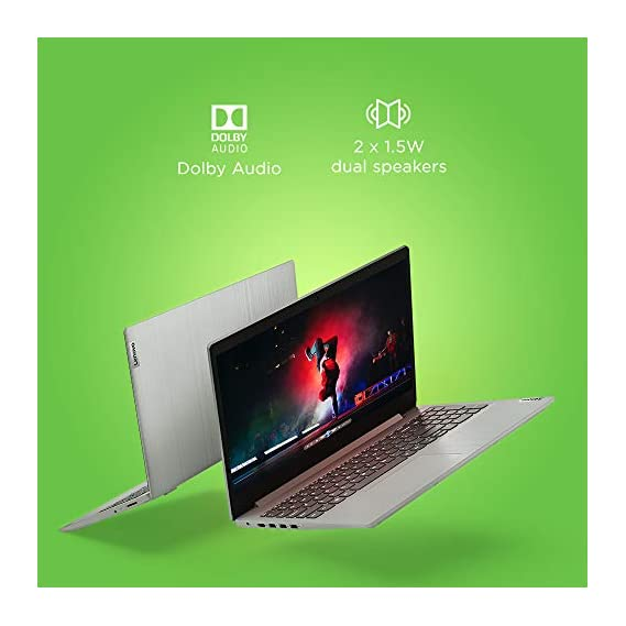 "Lenovo Ideapad Slim 3 15.6"" HD Thin and Light Laptop (AMD 3020e/4GB/1TB HDD/Windows 10/Grey/1.85Kg), 81W100HHIN"