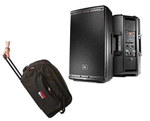 "JBL EON612 EON 612 1000 Watt Powered 12"" Active Speaker + Bag Case w/Wheels"