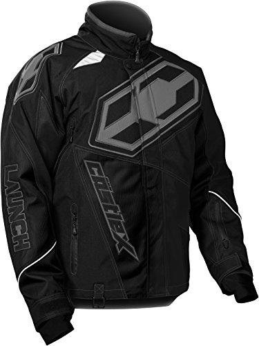 CASTLE X Launch G4 Mens Snowmobile Jacket - Black - XLG