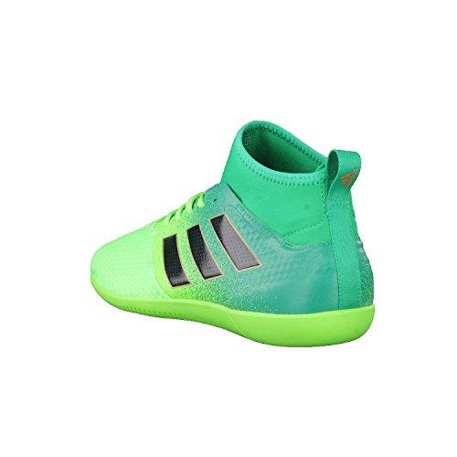 Adidas Ace 17.3 Primemesh in, Scarpe per Allenamento Calcio Uomo, Verde (Versol/Negbas/Verbas), 40 EU
