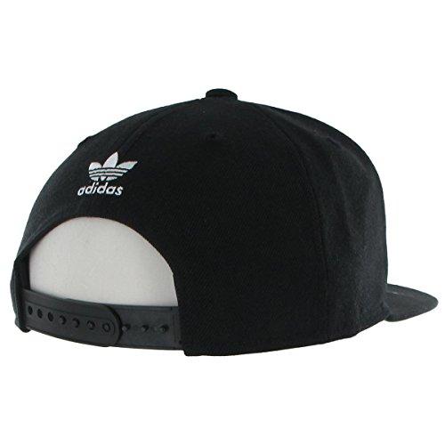 60f71d3a6d0 adidas Men s originals snapback flatbrim cap