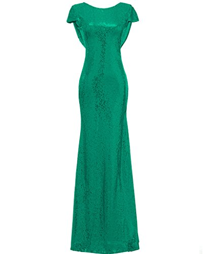 Sequined Green Evening Long Gown Mermaid Bridesmaid Prom Dress Solovedress Formal Women's Dresses aPqEwxxO