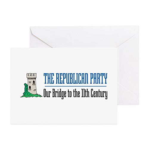 CafePress Bridge To 11Th Century Greeting Cards (Package Of Greeting Card, Note Card, Birthday Card, Blank Inside Glossy