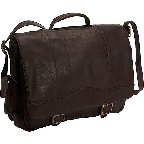David King & Co. Porthole Brief with Inside Organizer Plus, Cafe, One Size ()