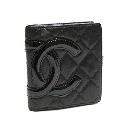 シャネル カンボンライン 財布(がま口式小銭入れ付き) A26720