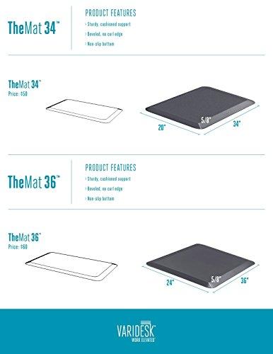 Varidesk Standing Desk Anti Fatigue Comfort Floor Mat Mat 36