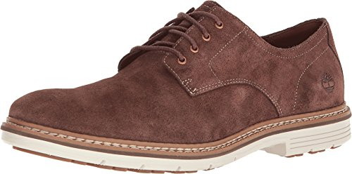 Timberland Brown Oxford - Timberland Men's Naples Trail Oxford Dark Brown Suede 11 D US