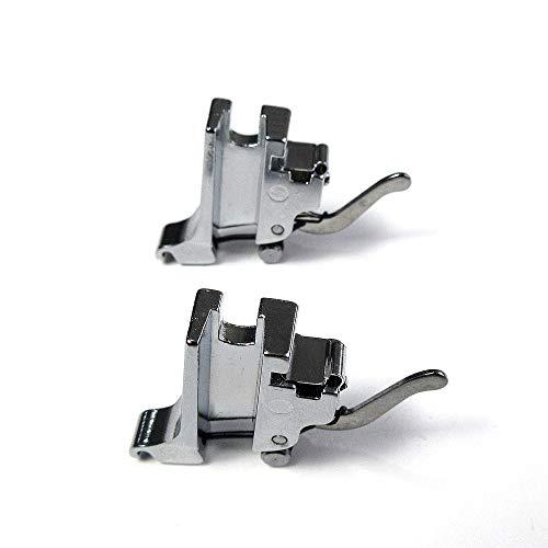 2 Pcs High Shank Presser Foot Holder Adapter Standard Snap On Sewing Machines
