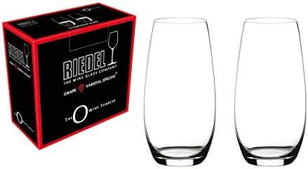 RIEDEL O Wine Tumbler Copas de champán, Cristal, incoloro, Set of 2