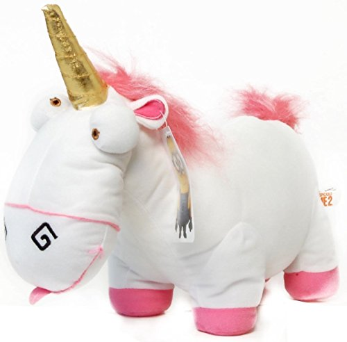 ToyFactory Despicable Me 2 Fluffy Unicorn 13-Inch Plush Figure