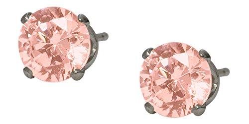 Amazon #DealOfTheDay: Silver 6mm SWAROVSKI Elements Crystal Earrings