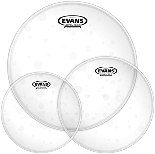 Tom Package Coated Drum Heads (Evans Hydraulic Glass Tom Pack)