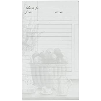 Meadowsweet Kitchens Lined Recipe Page Refill Pack For The Treasured Family  Recipes Organizer