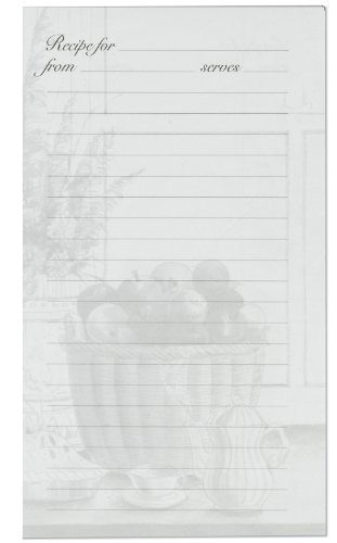 Meadowsweet Kitchens Lined Recipe Page Refill Pack for the Treasured (Recipe Book Refill)